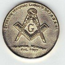 Image of Branson Lodge No. 587 Coin - 2016.2.71