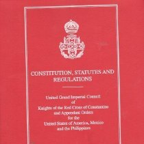 Image of Grand Imperial Council RCC - Constitution, codes, digests, etc--Red Cross of Constantine--United States