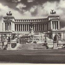 Image of Altare Della Patria Rome Italy 1945