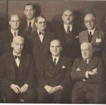 Image of Grand Lodge of Greece officers 1947 - 2016.6.46