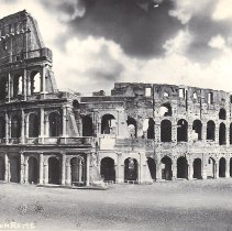 Image of The Coliseum Rome Italy 1945 - 2016.6.9