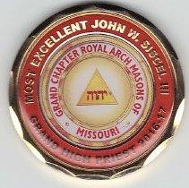 Image of Grand High Priest John Siscel Coin - 2016.7.56