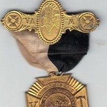 Image of 1901 Grand Encampment Medal from The Baby Commandery No 14 Sistersville, W. VA - 2016.11.100