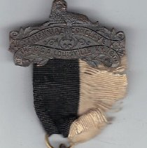 Image of 1901 St Bernard Commandery No 35 Grand Encampment Medal - 2016.11.105