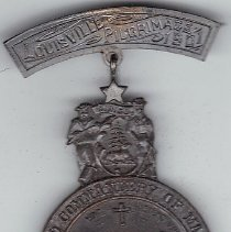 Image of 1901 Grand Commandery of Maine Grand Encampment Medal - 2016.11.106