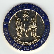Image of Grand Master Richard Smith Coin - 2016.11.11