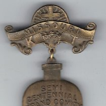 Image of Knight Templar Missouri Semi Centennial Jewel 1911