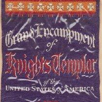 Image of Grand Encampment 41st Triennial Ribbon 1940