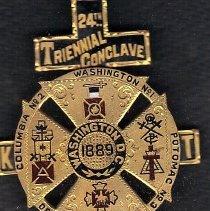 Image of 1889 Grand Encampment Jewel  - 2016.11.51