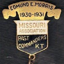 Image of Edmund Morris Past Commander Association of Missouri medal - 2016.11.81