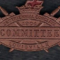Image of 1901 Grand Encampment Committee member medal