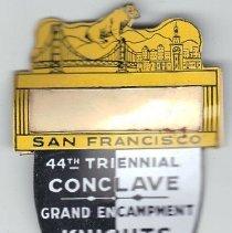 Image of 1949 Grand Encampment Medal, San Francisco CA - 2016.11.86.1