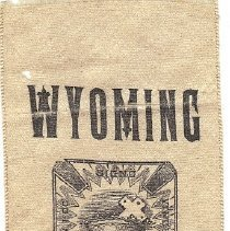 Image of Wyoming Commandery No 1 1889 Grand Encampment Ribbon - 2016.11.88