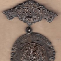 Image of Grand Commandery of Missouri Grand Encampment medal 1895 - 2016.11.91