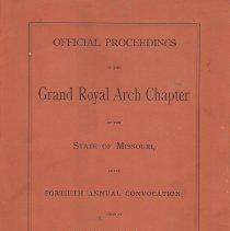 Image of Nixon-Jones Printing - Royal Arch--History--Missouri