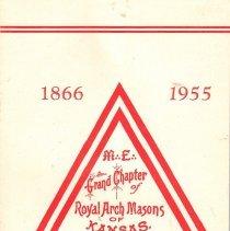 Image of Grand Chapter of Kansas RAM - York rite--History--Kansas