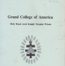 Image of Grand College of America - Freemasonry--Yearbook--Holy Royal Arch Knight Templar Priests