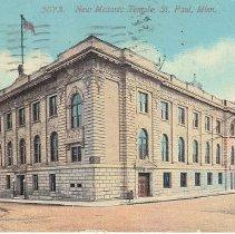 Image of New Masonic Temple St Paul Minnesota 1916 - 2017.3.53