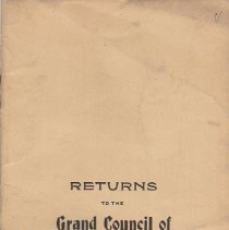 Image of Annual Returns--Campbell Council No 33 - 2017.3.58