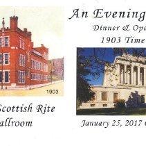 Image of Scottish Rite Time Capsule Ticket 2017 - 2017.3.7