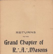 Image of Annual Returns: Princeton Chapter No 31 RAM