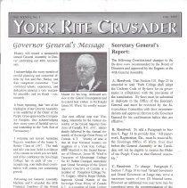 Image of York Rtie Crusader Fall 1997