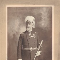 Image of Sir Kinght John Gillies Grand Commander 1897-1908