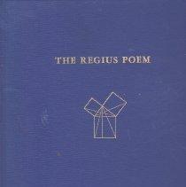 Image of Masonic Book Club - Freemasonry--Poetry Freemasonry--History--England English language--Middle Englsih 1100-1500--Texts Old Charges