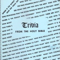 Image of History House - Holy Bible--Trivia