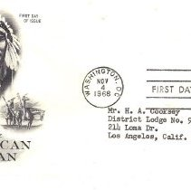 Image of Salute to the American Indian Chief Joseph - 2017.7.284