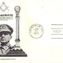 Image of Gen Douglas MacArthur FDC - 2017.7.287