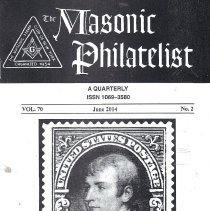 Image of Masonic Philatelist June 2014