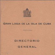 Image of Correspondence between Cuban Masons and Ray V Denslow 1946-1952 - 2017.10.57