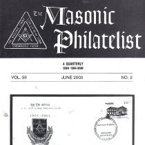 Image of Masonic Philatelist June 2003