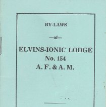 Image of Elvins-Ionic Lodge No 154 - Lodge--By-laws--MIssouri--Elvins-Ionic Lodge No 154