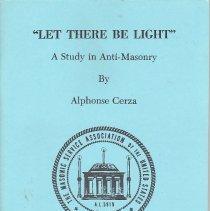 Image of Masonic Service Assocaition - Anti-Masonry--Addresses, lectures, essays