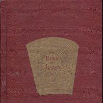 Image of Mark Book Missouri Chaper No 1 Royals Arch Masons - 2017.9.220