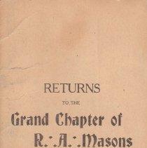 Image of Annual Returns: Charleston Chapter No 19 RAM