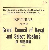 Image of Annual Returns: Fidelity Council No 35 R&SM