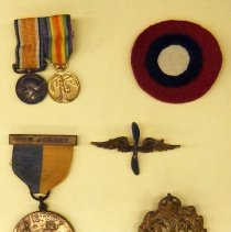 Image of Medals, pins, & insignia - front