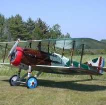 Image of 1917 SPAD XIII Biplane Reproduction - old skin