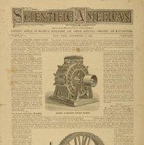 Image of Scientific American 1 Sep 1883.