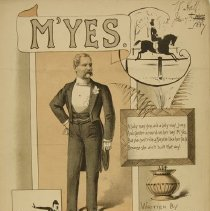 Image of M'Yes sheet music