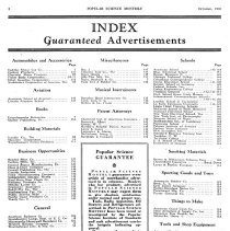 Image of Advertisement Index