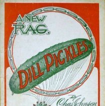 Image of Sheet music: Dill Pickles rag, 1906 - Lang Collection