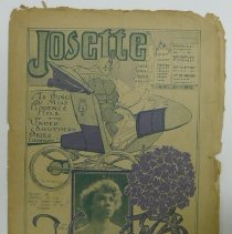 "Image of Sheet music for song ""Josette"" (sung by Florence Hill), 1904. - Lang Collection"