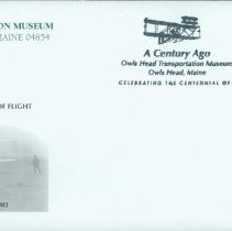 Image of Commemorative cover (envelope), Centennial of Flight 1903-2003