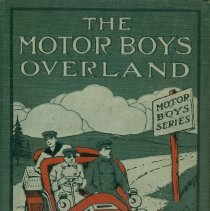 Image of The Motor Boys Overland, by Clarence Young: front cover