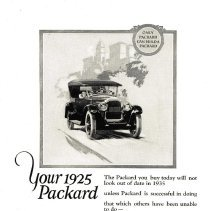 Image of Ad: Your 1925 Packard