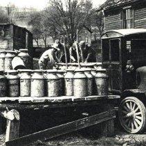 Image of Brockway truck postcard